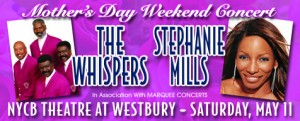 The Whispers and Stephanie Mills at The Westbury Music Fair
