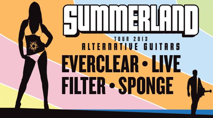 Summerland Tour 2013 at the Westbury Music Fair