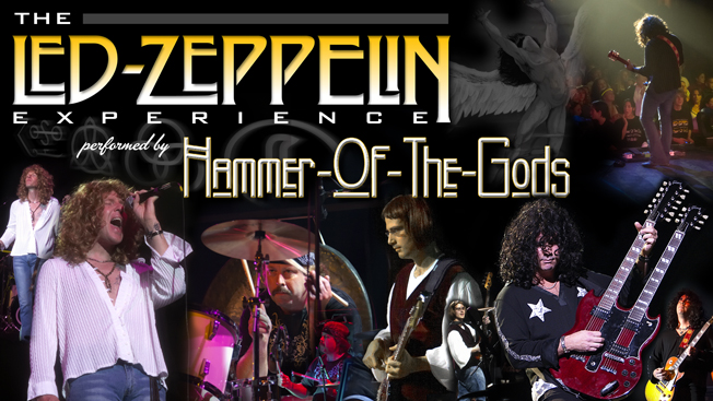 Hammer Of The Gods Led Zeppelin Experience at Westbury Music Fair