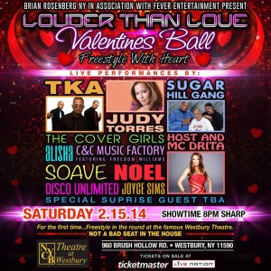 Louder Than Love Valentine's Ball Freestyle at NYCB Theatre at Westbury