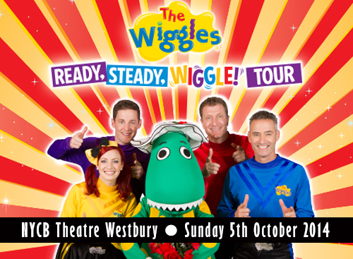 The Wiggles 'Ready, Steady, Wiggle' tour at NYCB Theatre at Westbury