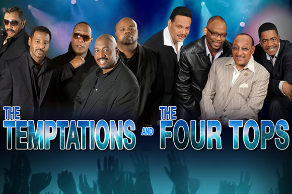 The Temptations & The Four Tops at NYCB Theatre at Westbury