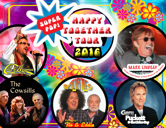 Happy Together Tour: The Turtles, Mark Lindsay, Gary Puckett, Chuck Negron, The Cowsills & Spencer Davis Group at NYCB Theatre at Westbury