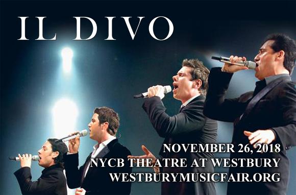 Il Divo at NYCB Theatre at Westbury