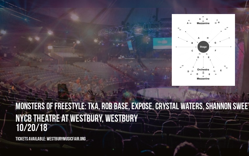 Monsters Of Freestyle: TKA, Rob Base, Expose, Crystal Waters, Shannon Sweet Sensation, Johnny O, Coro, Lisette Melendez, Soave, Alisha & Pretty Poison at NYCB Theatre at Westbury