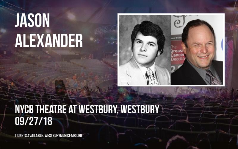 Jason Alexander at NYCB Theatre at Westbury
