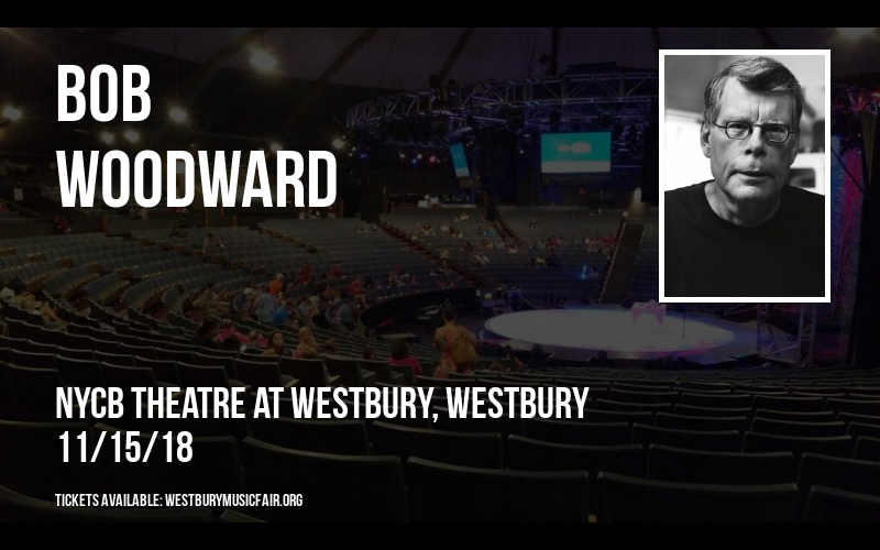 Bob Woodward at NYCB Theatre at Westbury