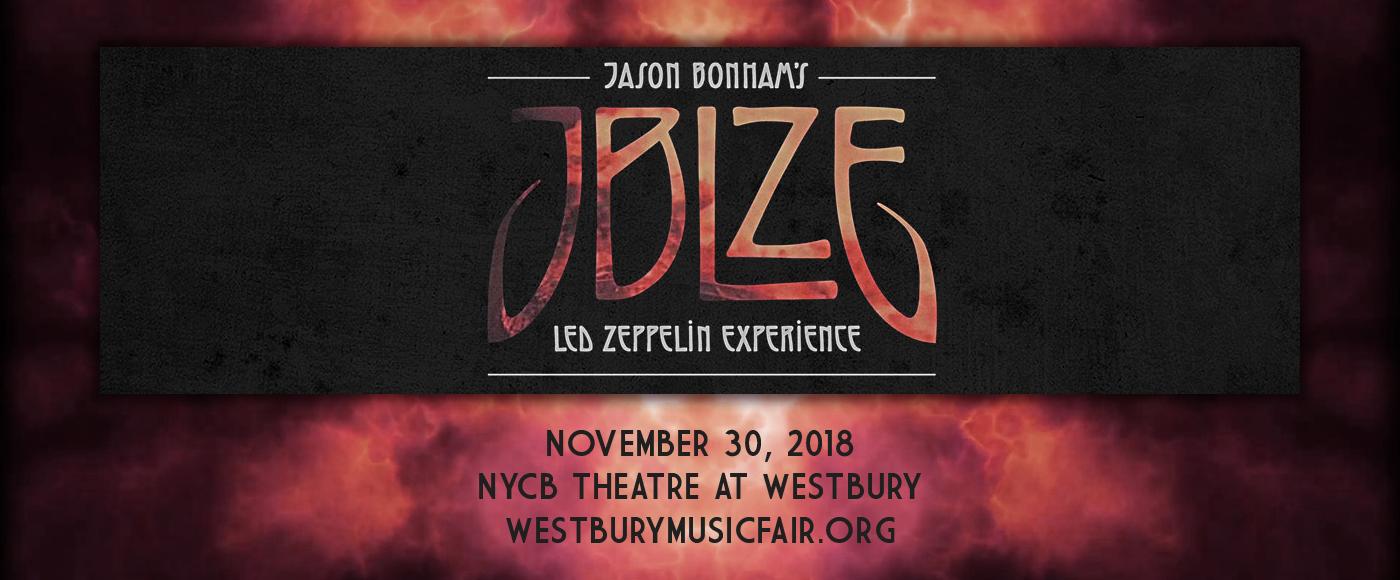 Jason Bonham Tickets 30th November Nycb Theatre At