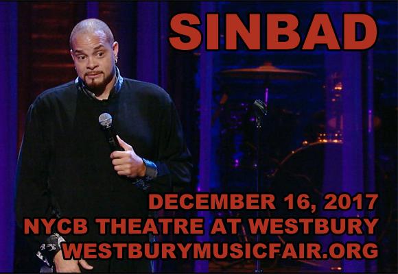 Sinbad Tickets 24th November Nycb Theatre At Westbury