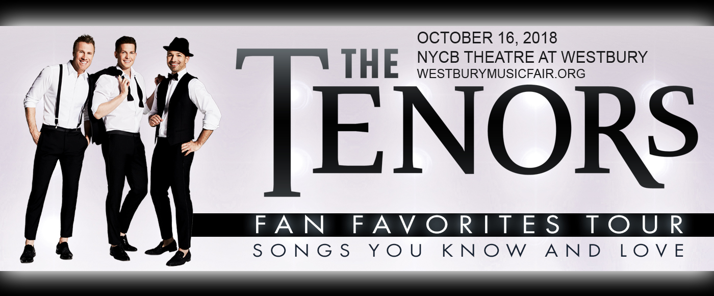 The Tenors at NYCB Theatre at Westbury