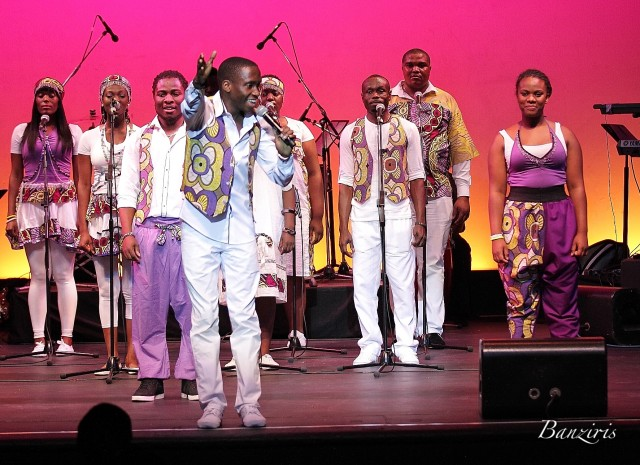 The London African Gospel Choir at NYCB Theatre at Westbury
