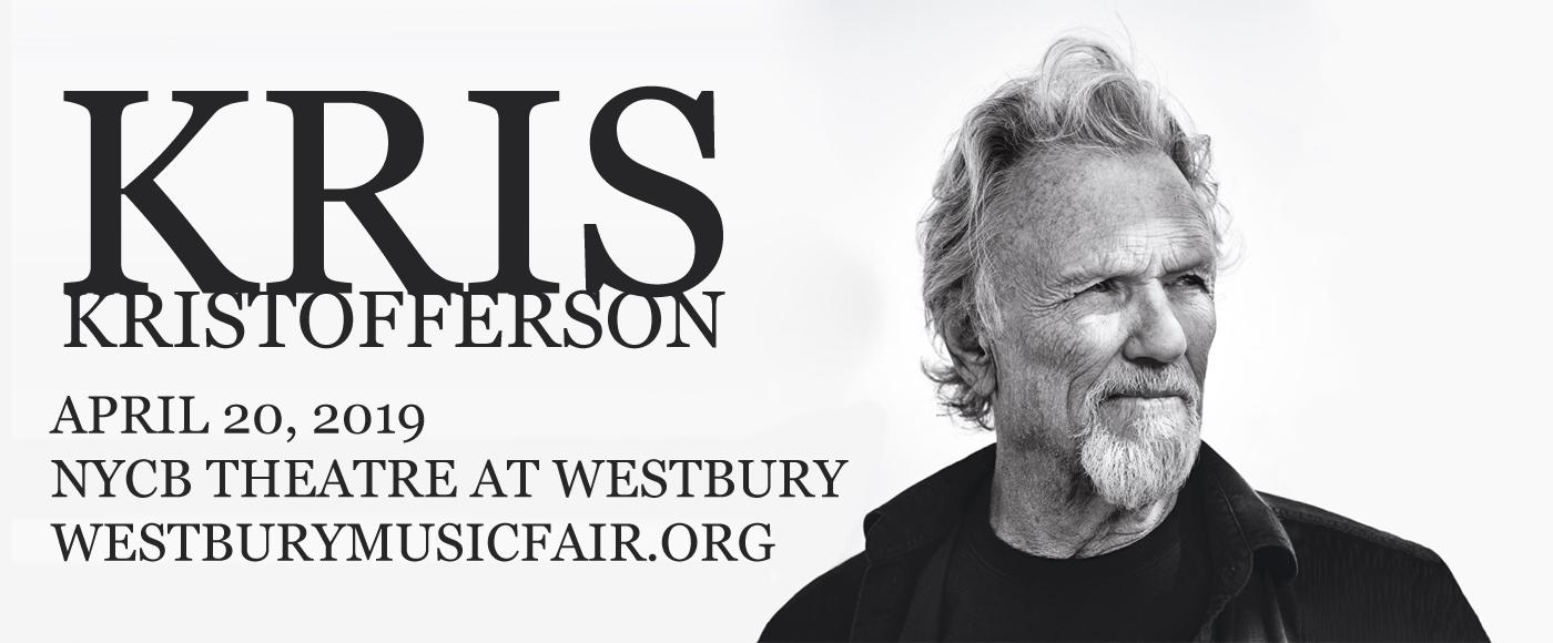 Kris Kristofferson at NYCB Theatre at Westbury
