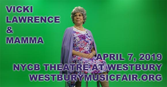 Vicki Lawrence at NYCB Theatre at Westbury