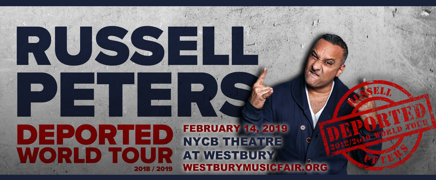 Russell Peters at NYCB Theatre at Westbury