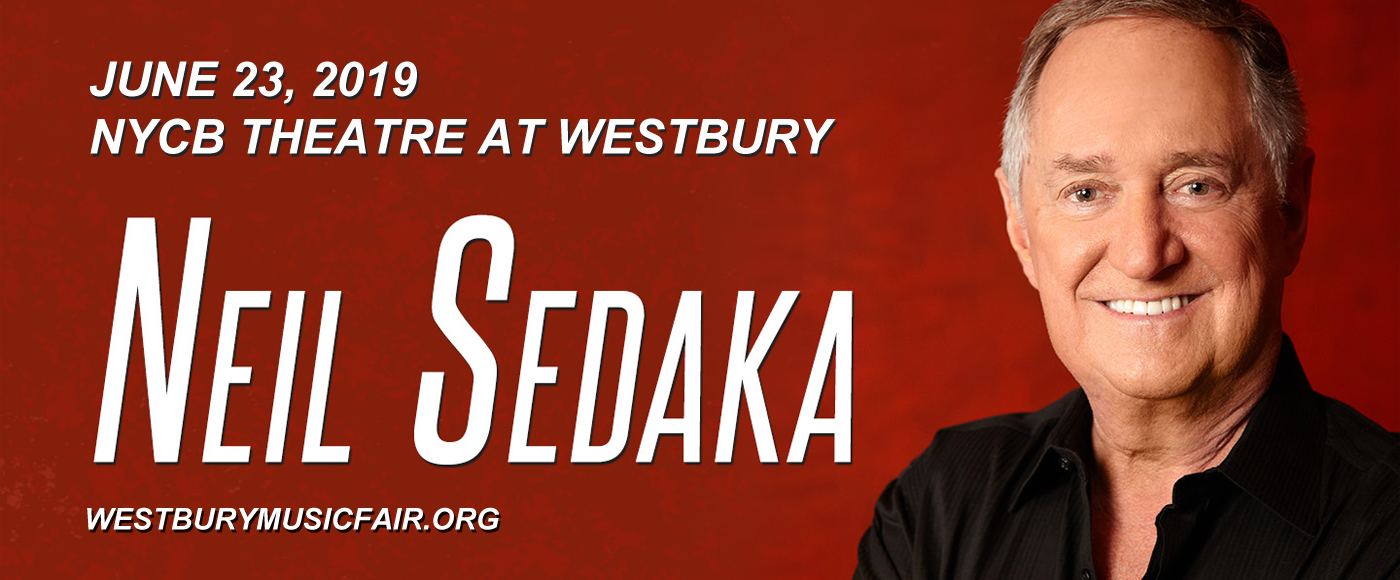 Neil Sedaka at NYCB Theatre at Westbury