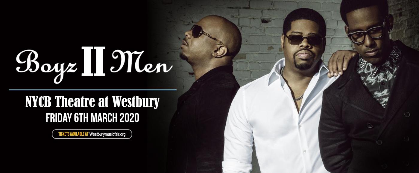 Boyz II Men at NYCB Theatre at Westbury
