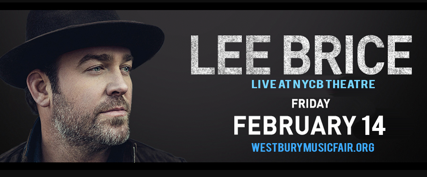 Lee Brice at NYCB Theatre at Westbury