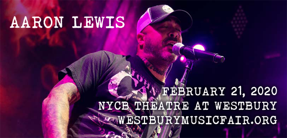 Aaron Lewis at NYCB Theatre at Westbury