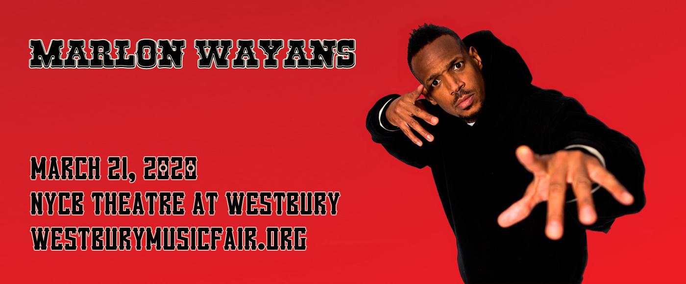 Marlon Wayans at NYCB Theatre at Westbury