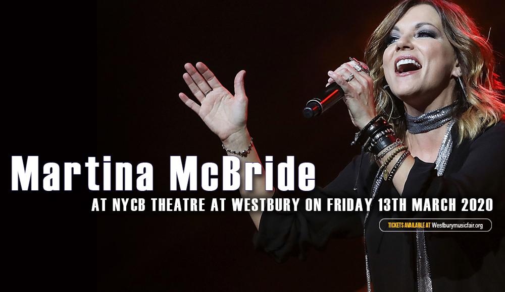 Martina McBride [POSTPONED] at NYCB Theatre at Westbury