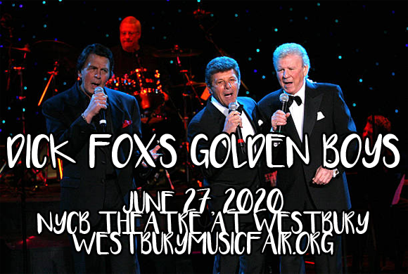 The Golden Boys: Frankie Avalon, Fabian & Bobby Rydell [POSTPONED] at NYCB Theatre at Westbury