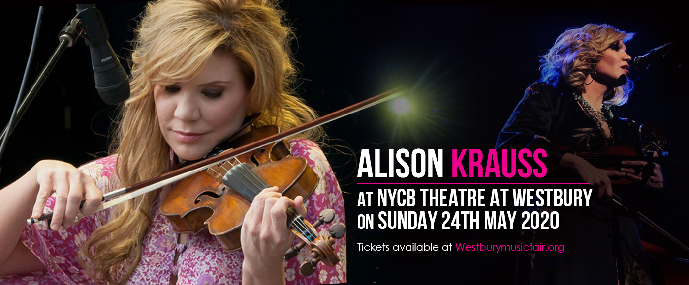 Alison Krauss [CANCELLED] at NYCB Theatre at Westbury