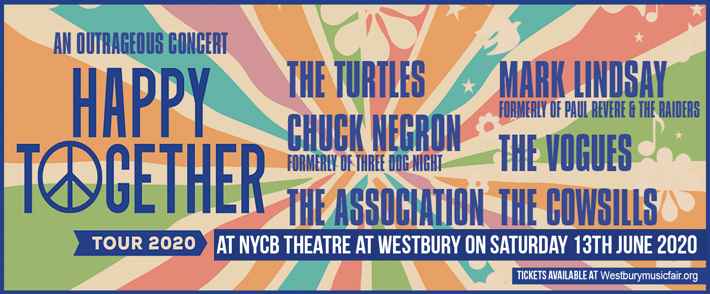 Happy Together Tour at NYCB Theatre at Westbury