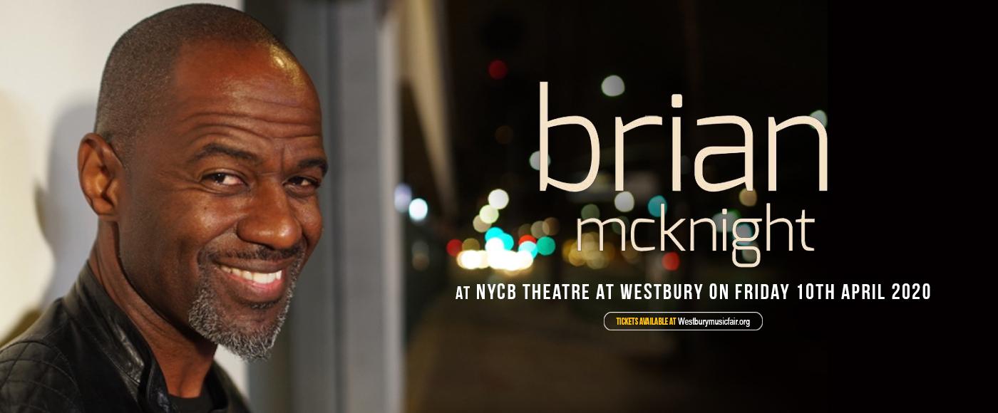 Brian McKnight [POSTPONED] at NYCB Theatre at Westbury