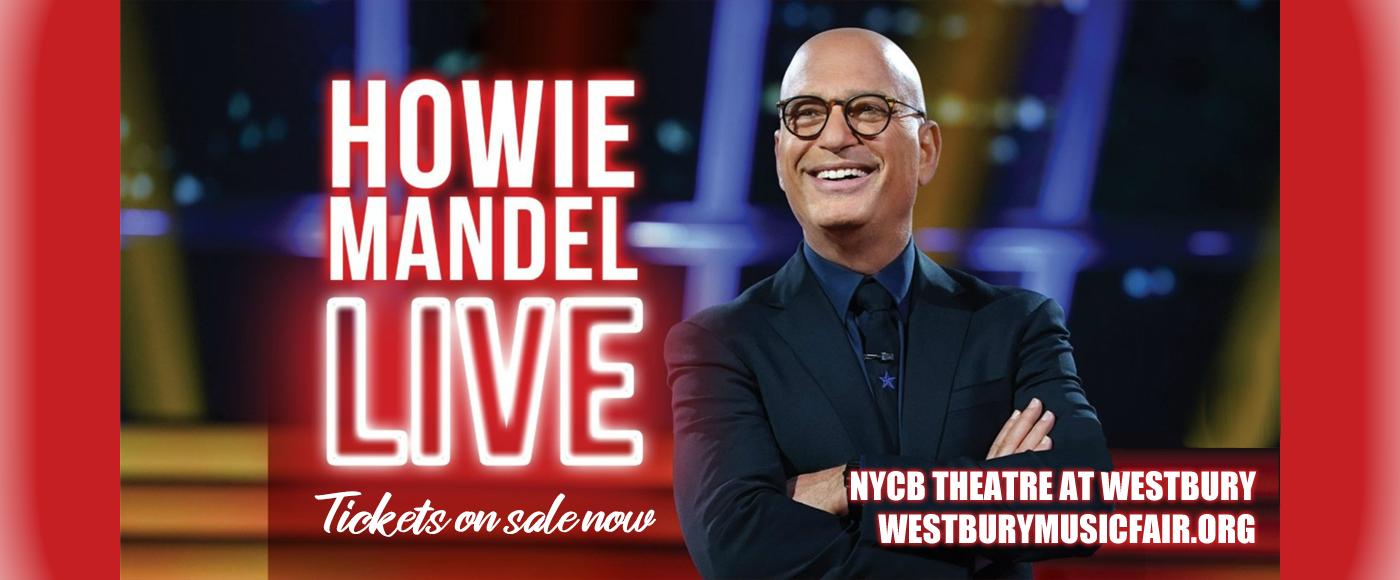 Howie Mandel [POSTPONED] at NYCB Theatre at Westbury