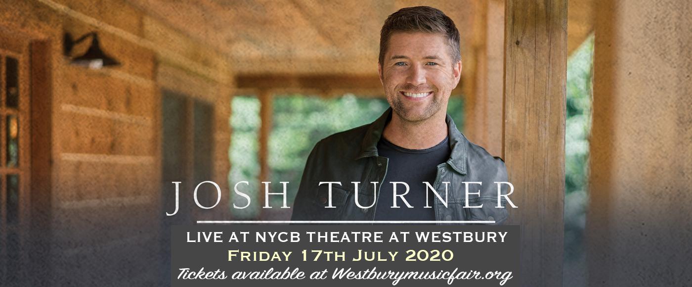 Josh Turner [CANCELLED] at NYCB Theatre at Westbury