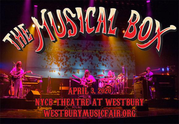 The Musical Box: A Genesis Extravaganza Vol II at NYCB Theatre at Westbury