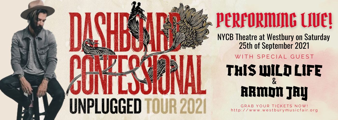 Dashboard Confessional: Unplugged Tour [CANCELLED] at NYCB Theatre at Westbury