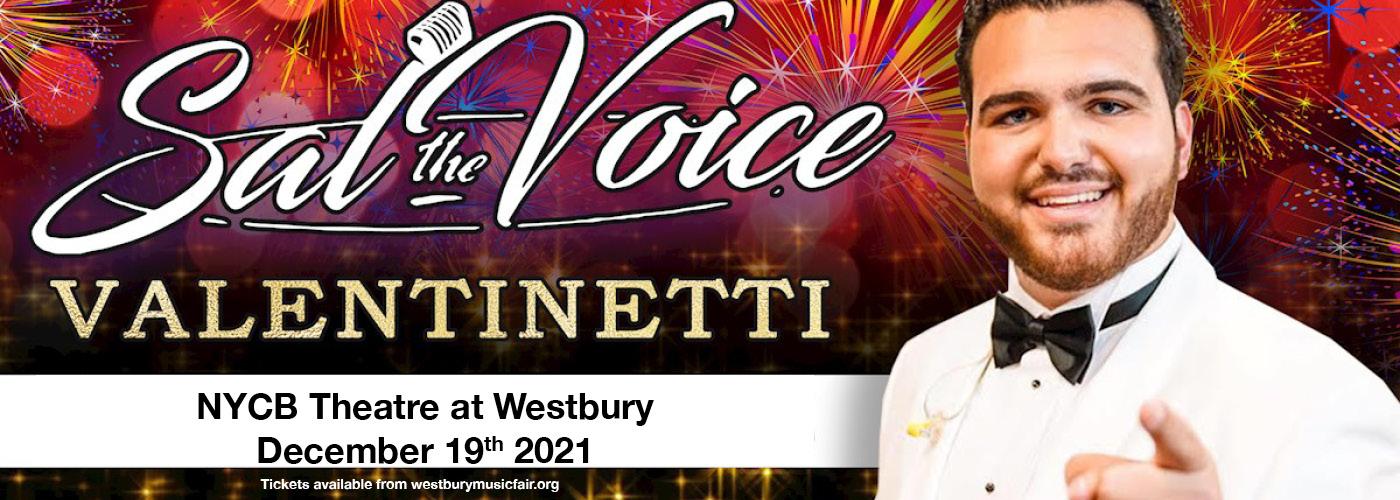 Sal Valentinetti at NYCB Theatre at Westbury
