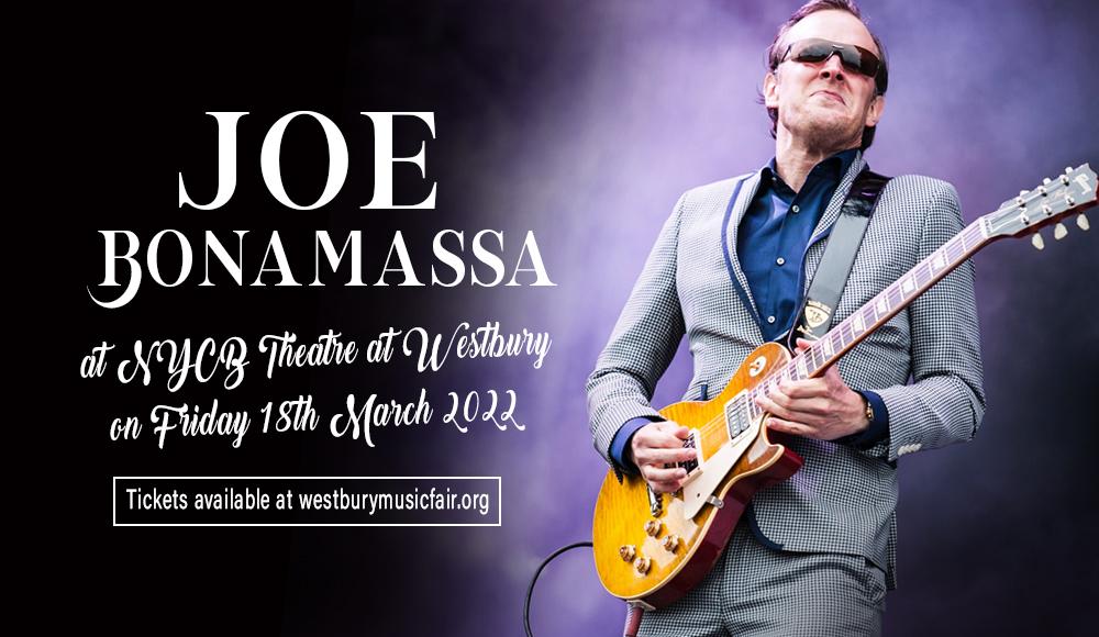 Joe Bonamassa at NYCB Theatre at Westbury