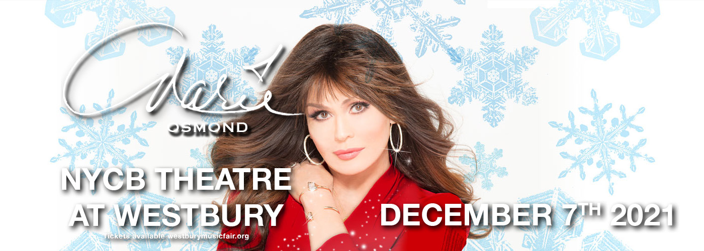 Marie Osmond at NYCB Theatre at Westbury